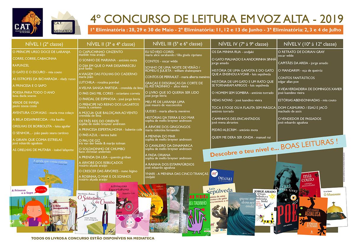Cartaz obras escolhidas CVA