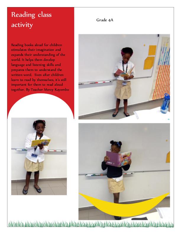 Class activity grade 4a