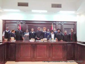 Visita de estudo ao Tribunal Provincial de Luanda – Palácio Dona Ana Joaquina