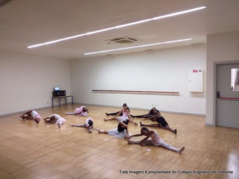 Demonstração/aula aberta de dança para os E.E 🗓 🗺