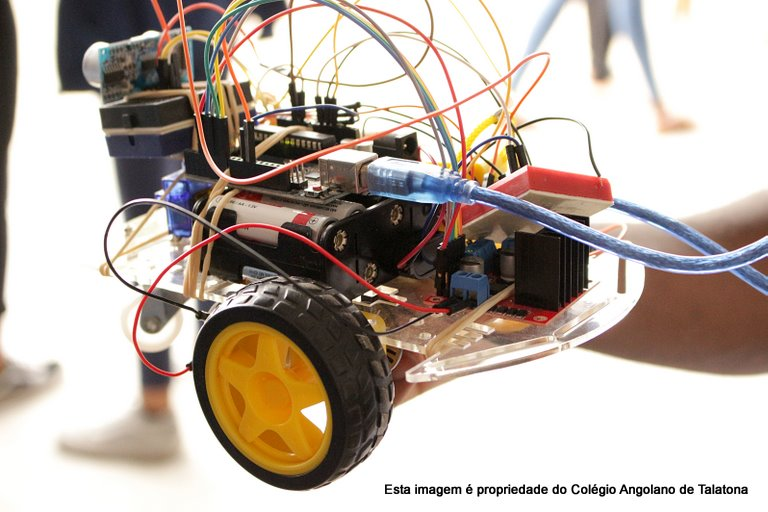 """Demonstração de """"Programação e Robótica"""" 🗓 🗺"""