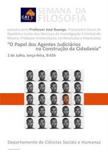 Palestra sobre o Papel dos Agentes Judiciários na Construção da Cidadania